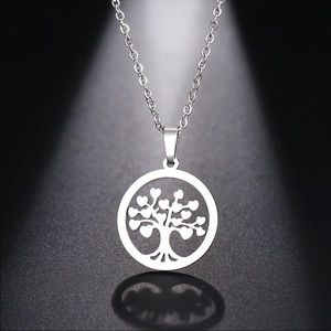 TREE OF LIFE ♡ Stainless Steel Necklace